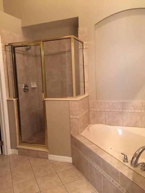 new home master bathroom