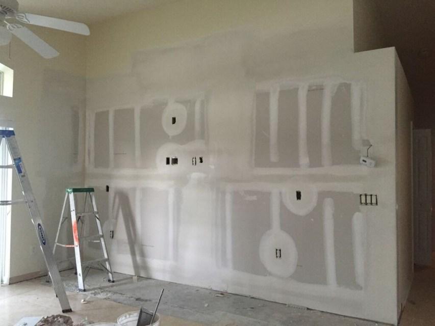new drywall