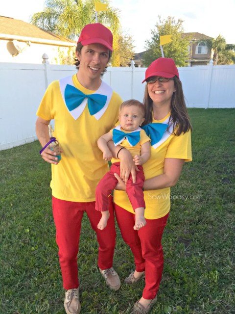 Easy Tweedle Family Costume Anyone Can Make in 30 minutes!