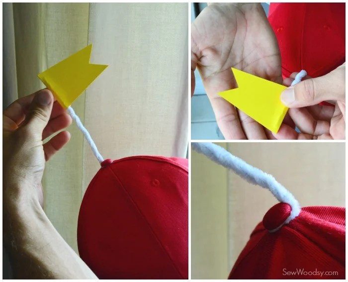 Easy Tweedle Family Costume - Hat's with Flag