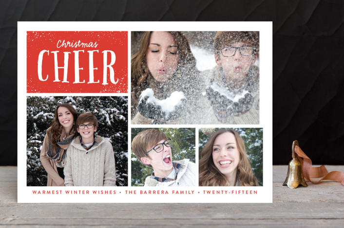 Bright Wishes Christmas Photo Cards