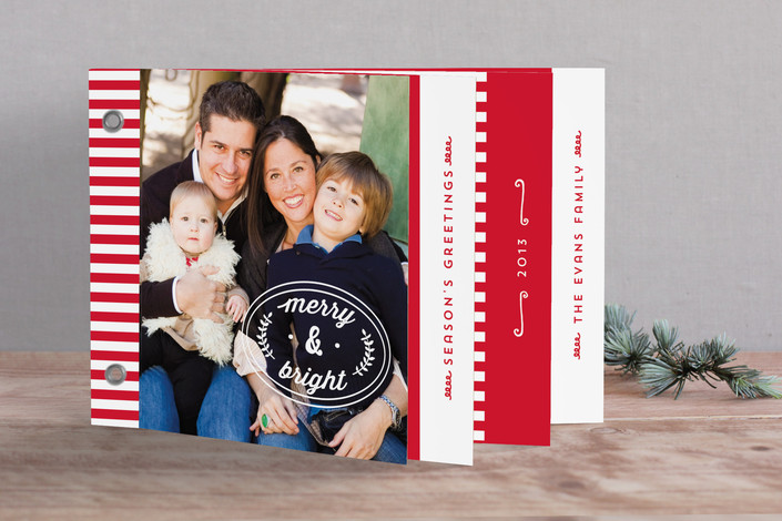 Stripes and Stamps Photobook