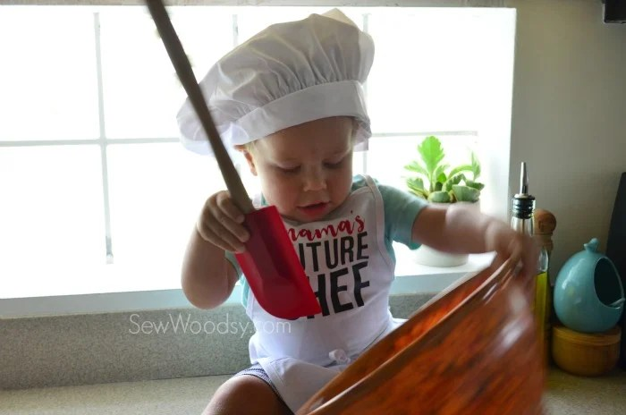 Toddler Costume Future Chef
