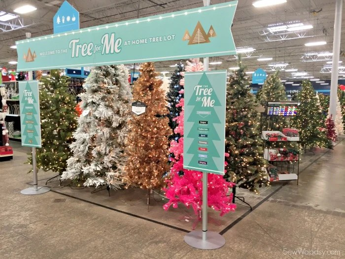 At Home Tree Lot - Tree For Mee #AtHomeforChristmas #AtHomeFinds #Ad