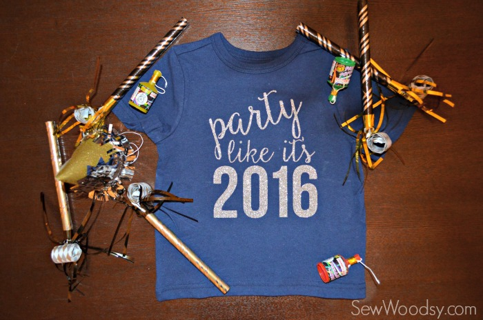 Party Like It's 2016 - DIY Shirt