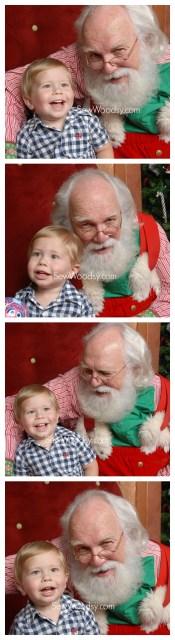 Happy Santa Toddler Photos