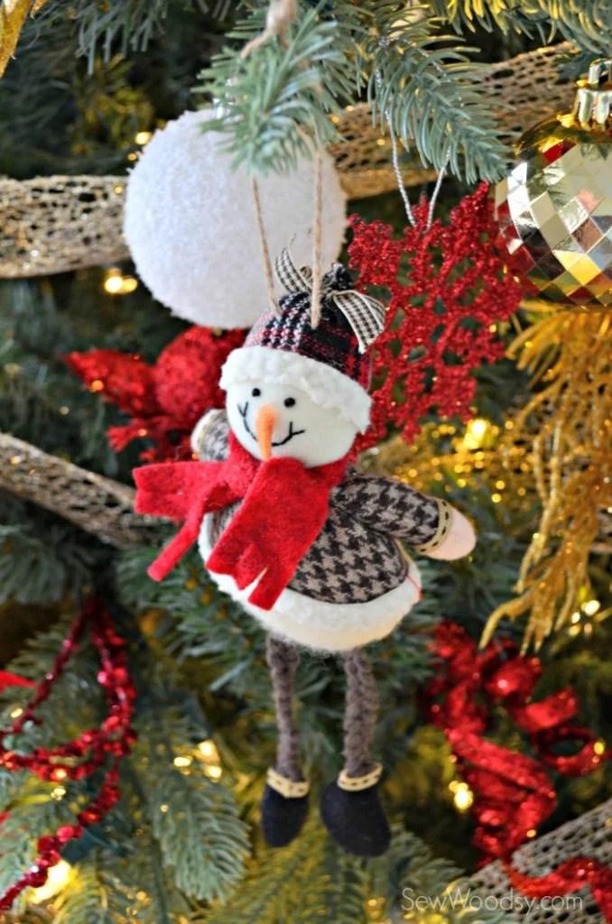 Kid Friendly Snowman Ornanment