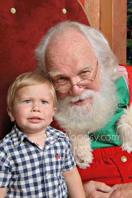 The Best Toddler Santa Photo
