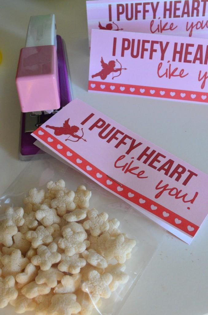 I puffy heart like you valentine
