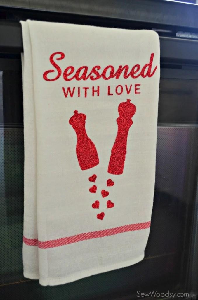 Seasoned with Love Tea Towel