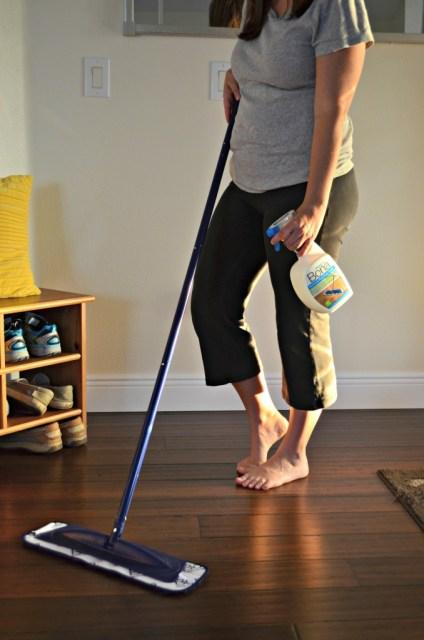 Hardwood Floor Cleaning with Bona® PowerPlus