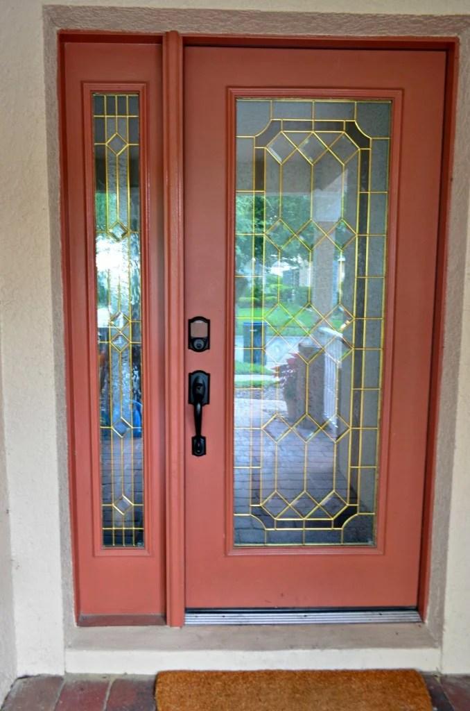 Front Door with Schlage Sense