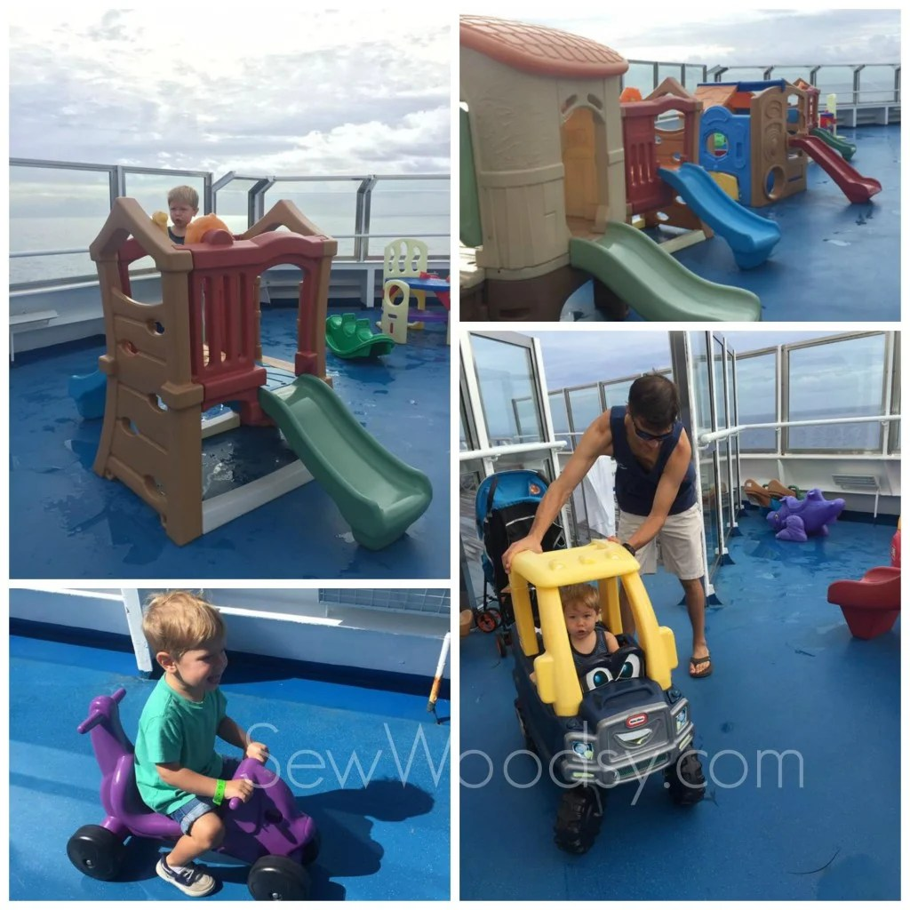 Playground at Sea on the Carnival Conquest