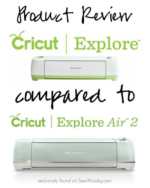 Product Review - Cricut Explore compared to Cricut Explore Air 2