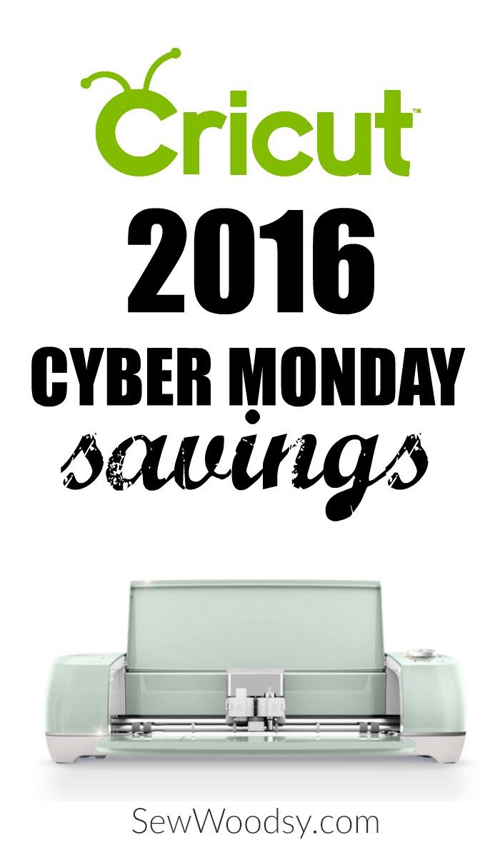 2016 Cricut Cyber Monday Sale