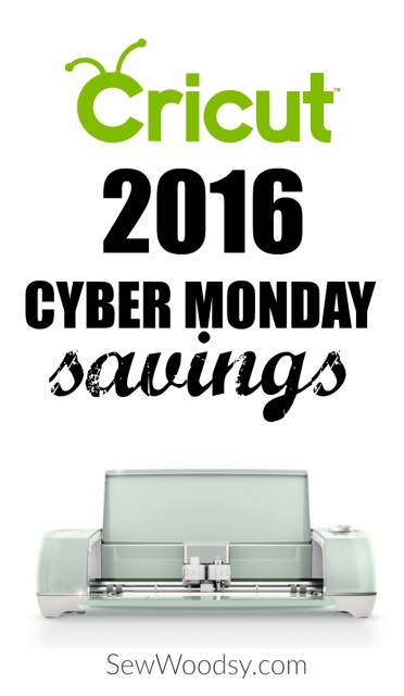 2016 Cricut Cyber Monday Sale