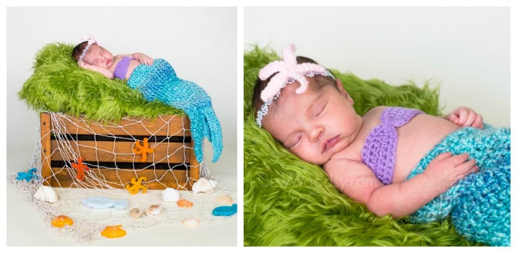 Mermaid Newborn Photography