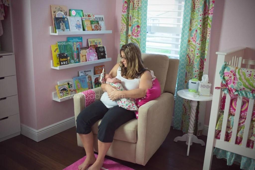 Newborn Photography in Nursery