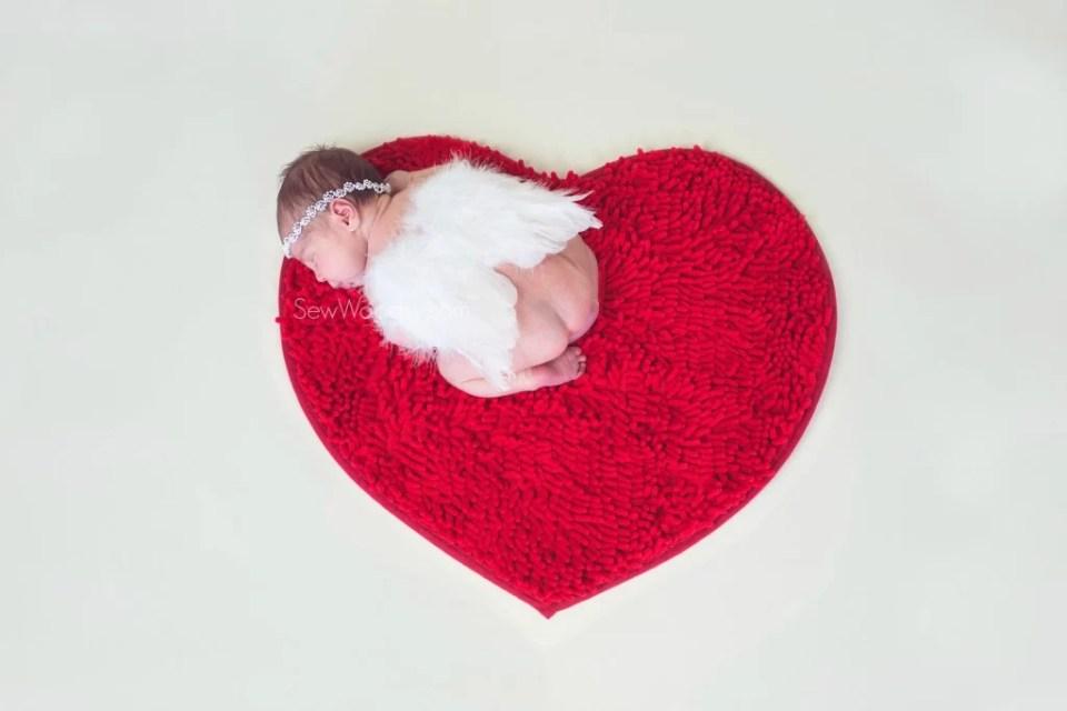 Valentine's Day Inspired Newborn Photography
