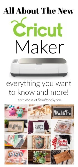 All About the New Cricut Maker