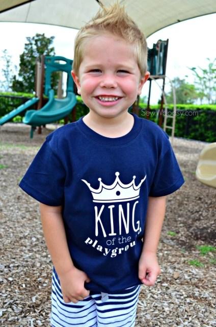 King of the Playground Tshirt