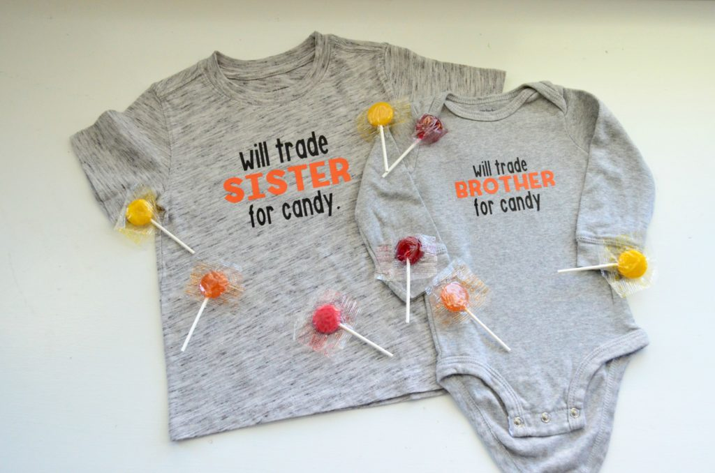 DIY Will Trade Sibling for Candy T-Shirt Project