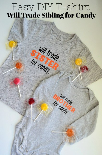 DIY Will Trade Sibling for Candy T-Shirt
