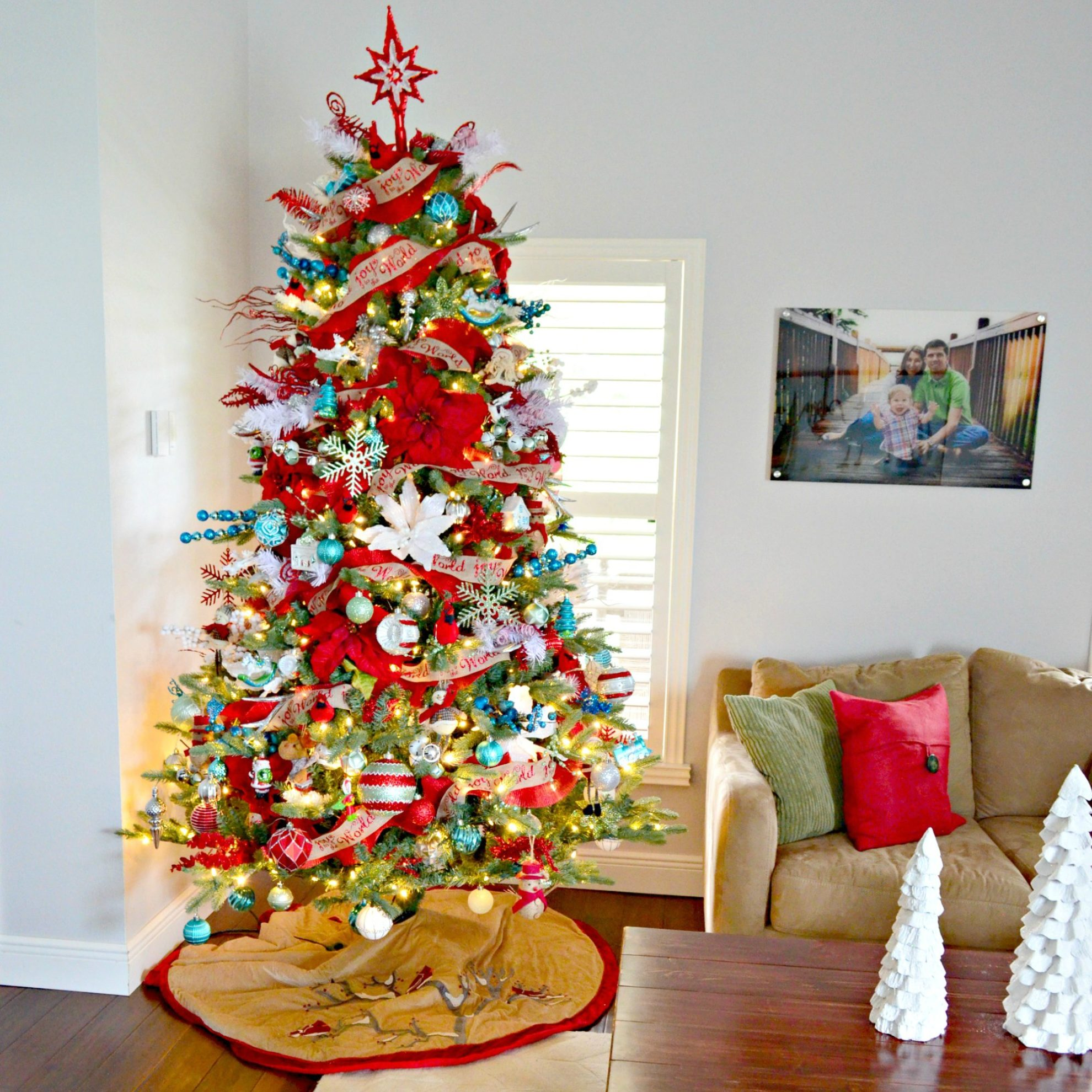 2017 Whimsical Christmas Tree Sew Woodsy