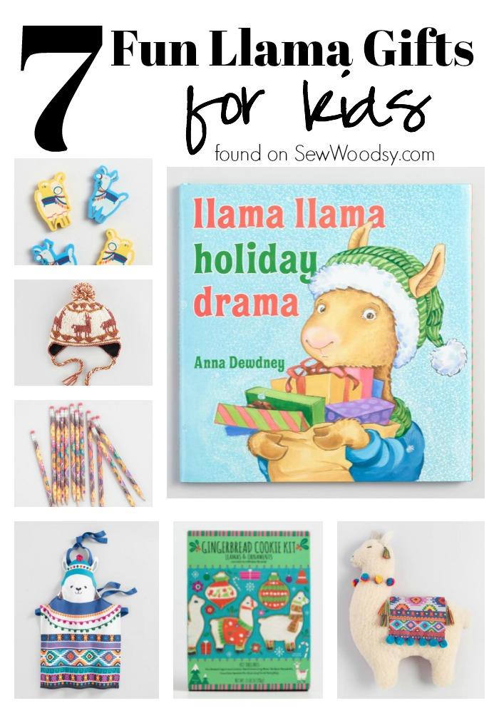 7 Fun Llama Gifts for Kids!