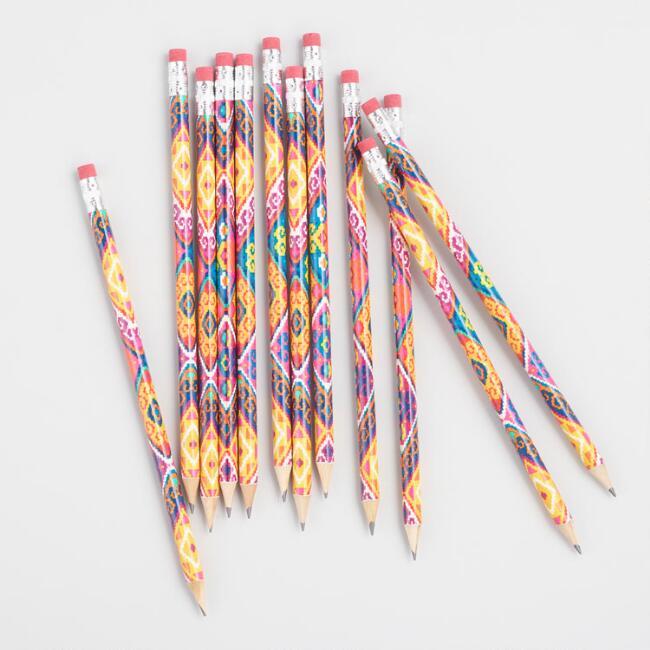 Boxed Llama Pencils Set Of 12