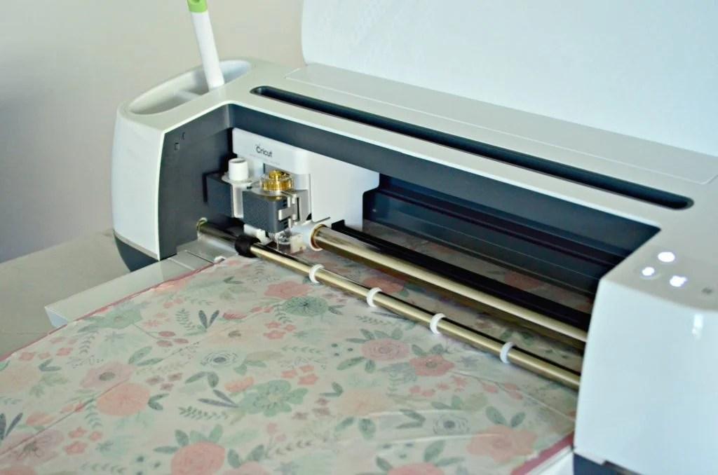 Cricut Maker Cutting Fabric