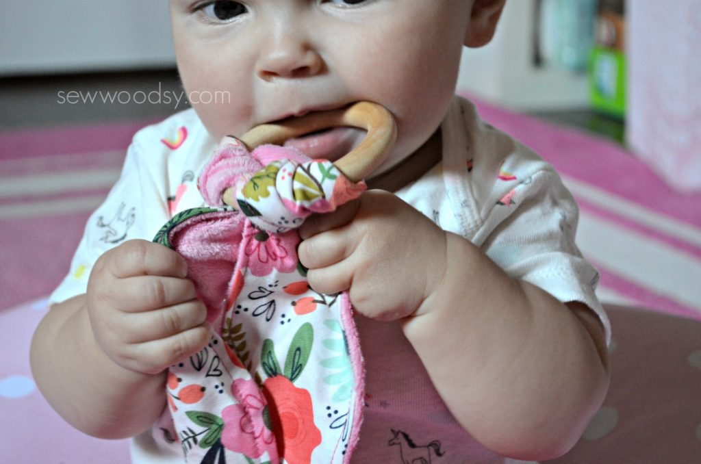 DIY Teething Ring for Baby