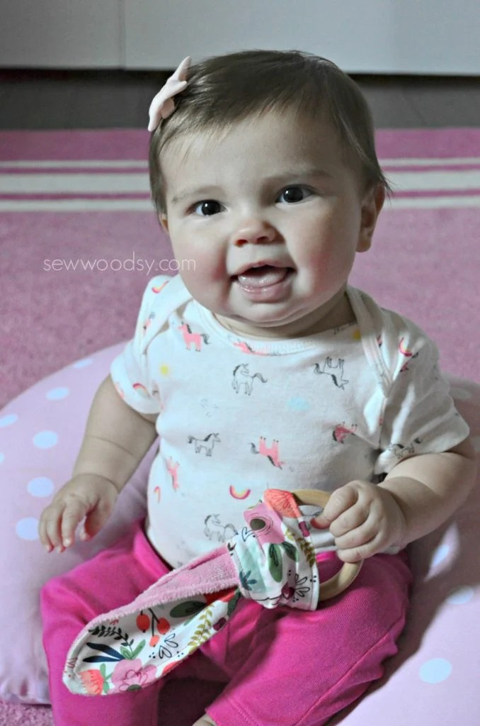 DIY Teething Ring for Baby