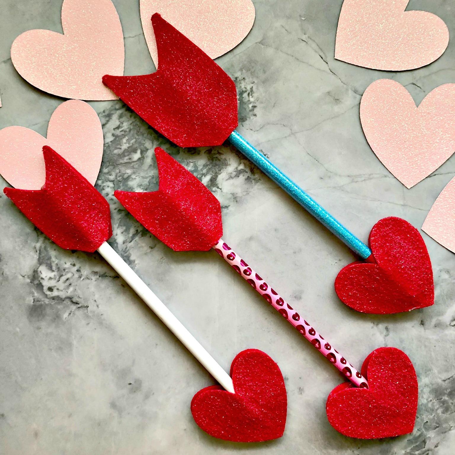 Cupid's Arrow Pencil Covers