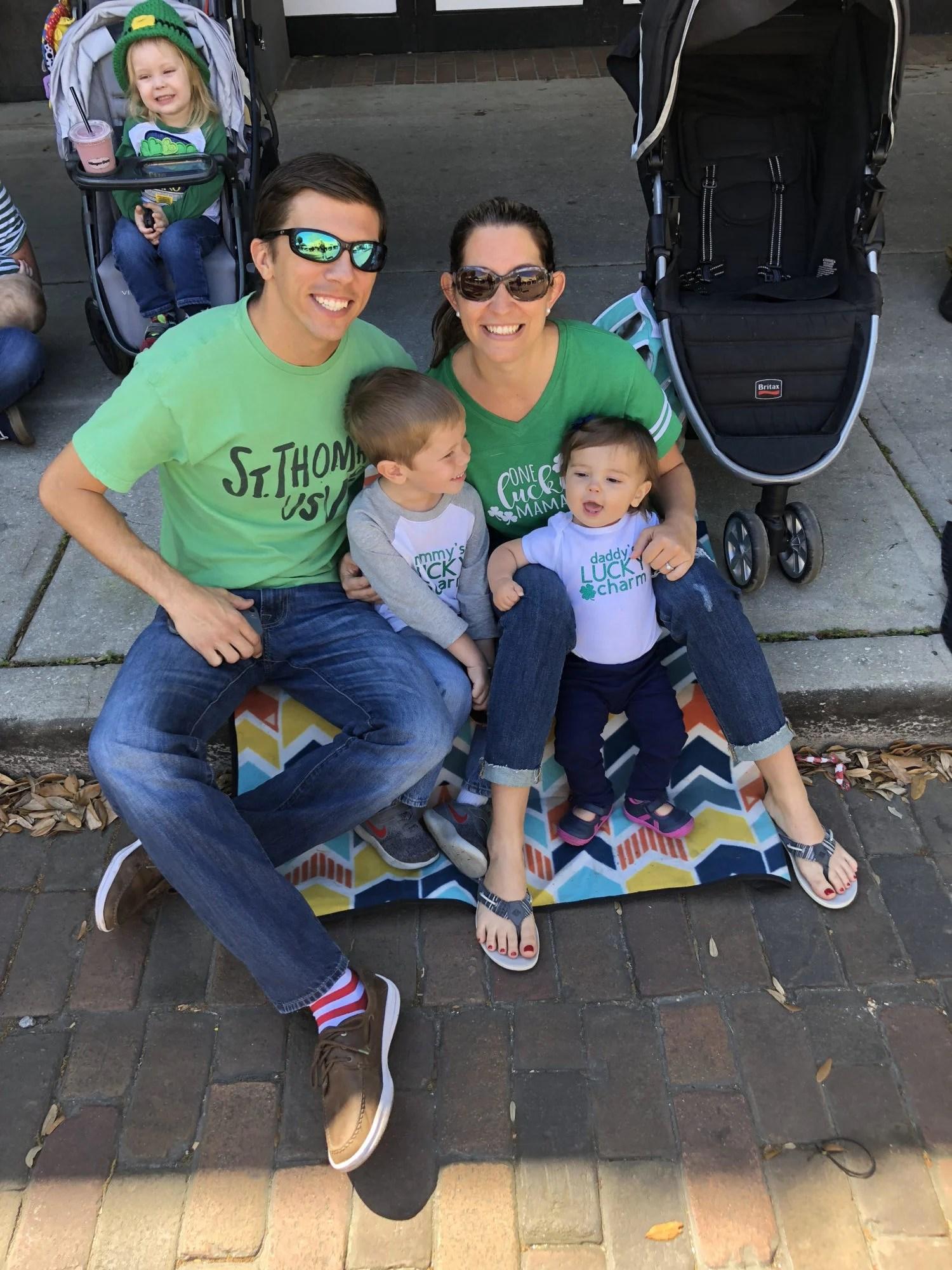 St. Patricks Day parade shirts