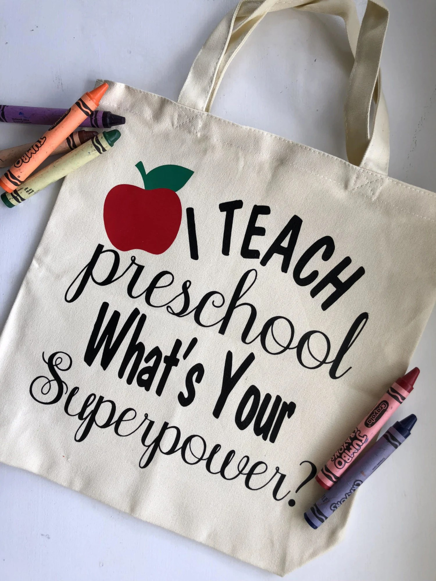 's Your Superpower? DIY Tote Bag