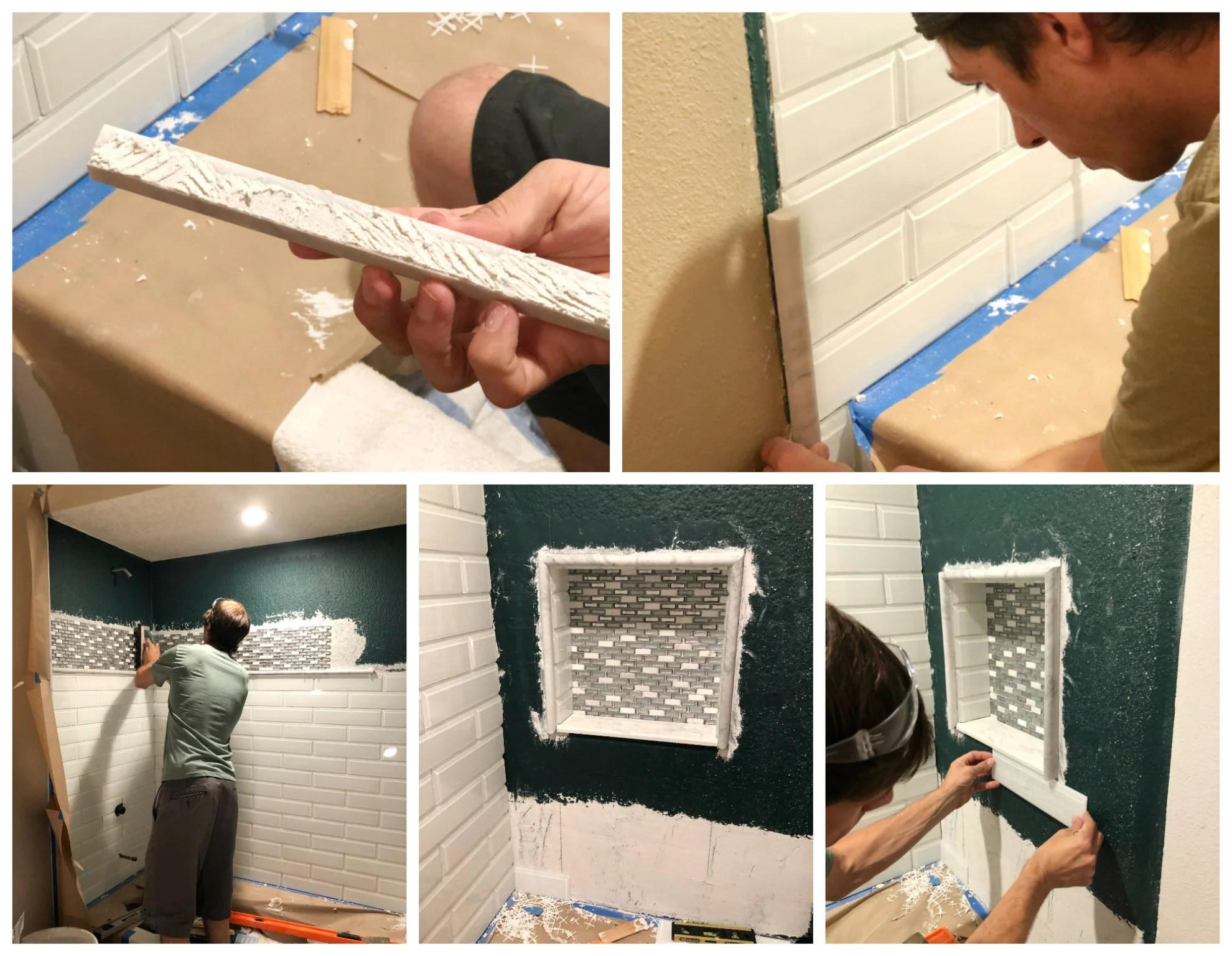 Bathroom Shower Tileing