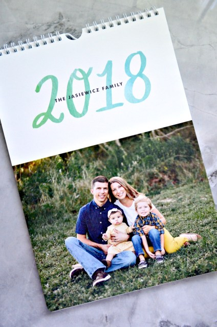 2018 Minted Family Calendar