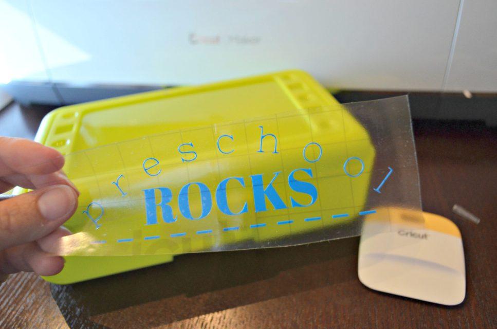 Free Preschool Rocks Vinyl Design