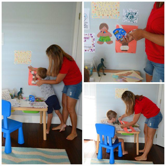 Scotch® Wall-Safe Tape - Preschool Creative Workspace
