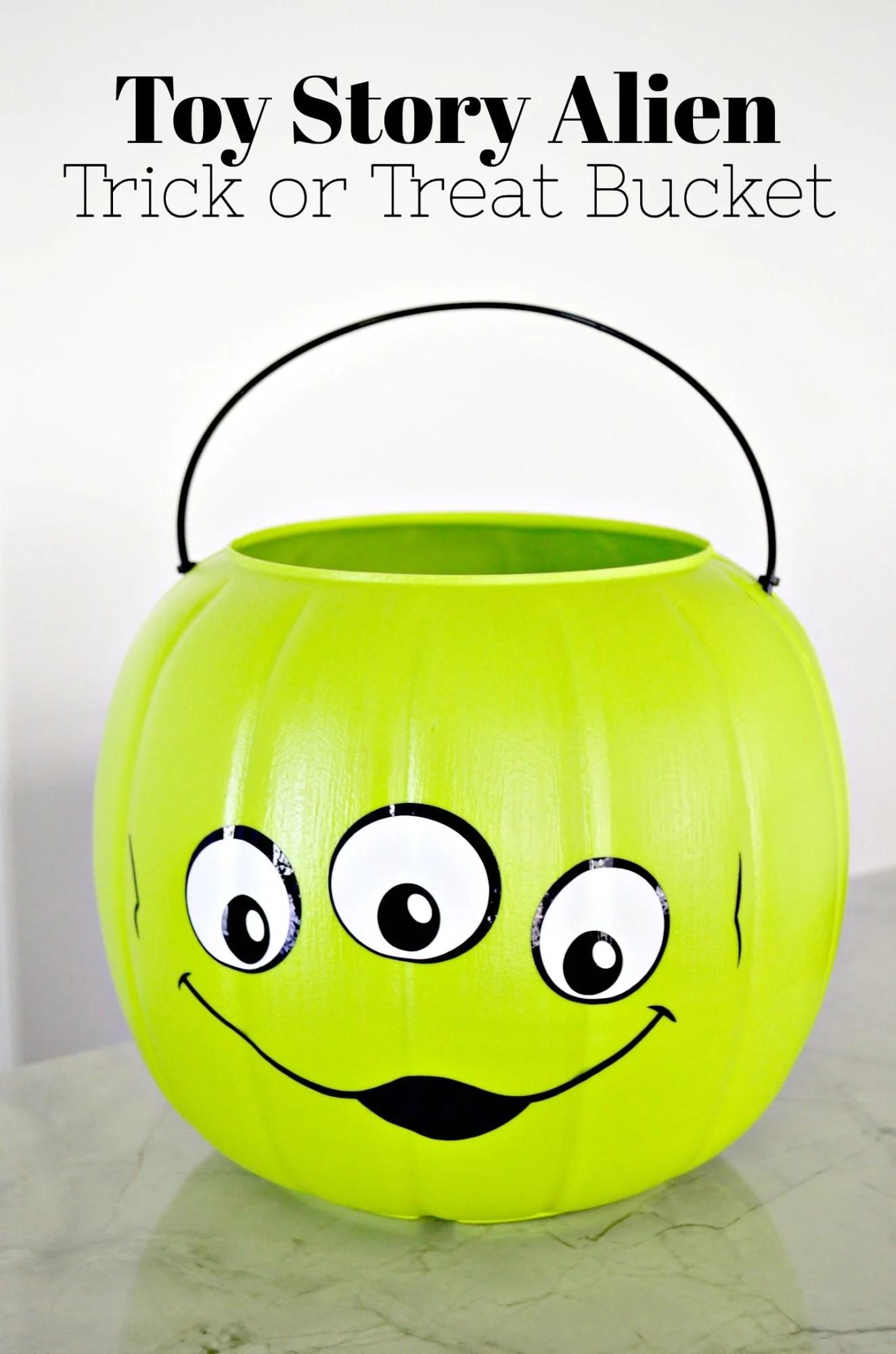 Toy Story Alien Trick or Treat Bucket