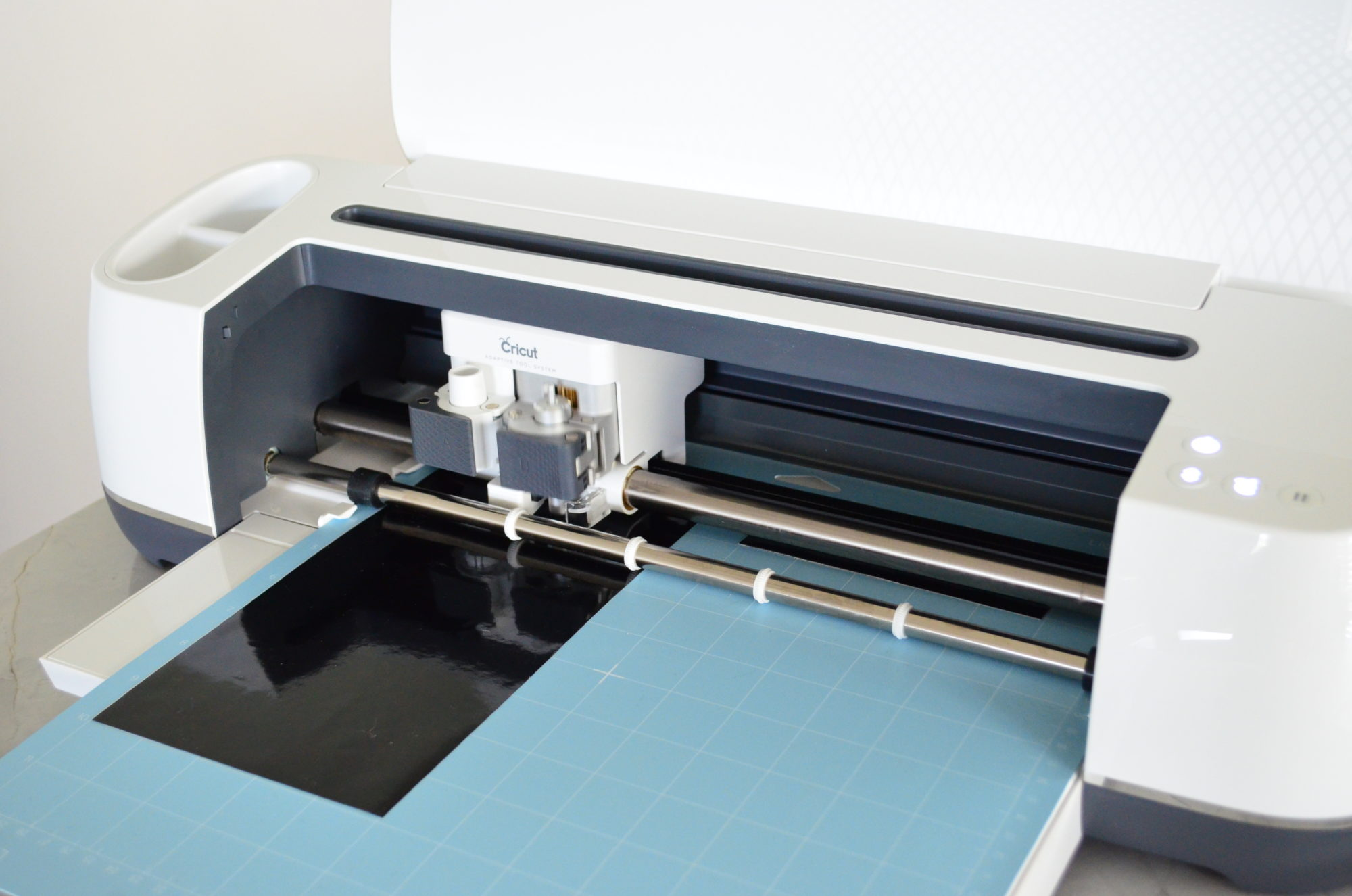 Cricut Maker Cutting Black Vinyl
