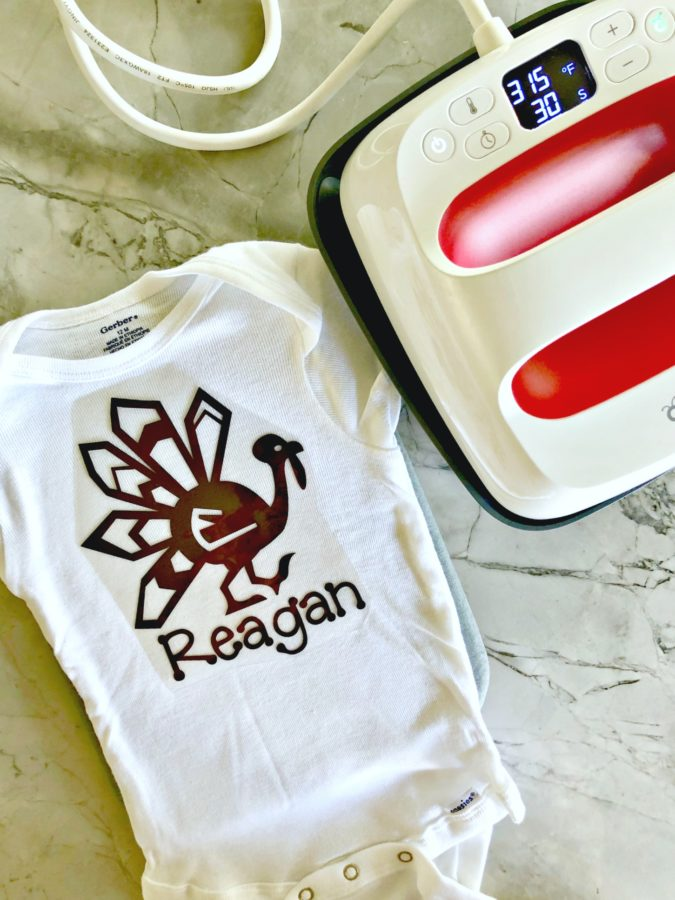DIY Personalized Thanksgiving Turkey Shirt - Cricut EasyPress 2