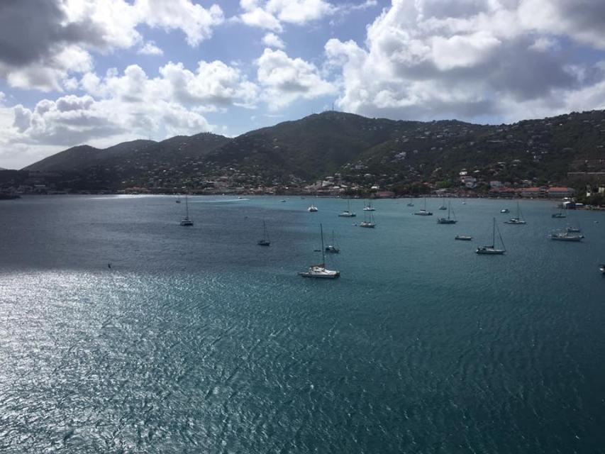 St. Thomas sailboats