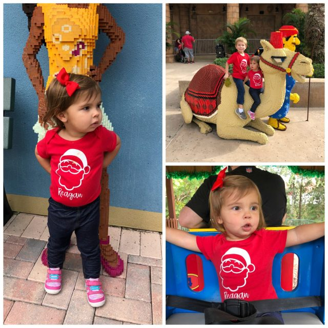 DIY Personalized Santa T-Shirt for Toddlers