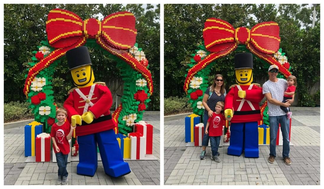 LEGOLAND CHRISTMAS BRICKTACULAR LEGO TOY SOLDIER