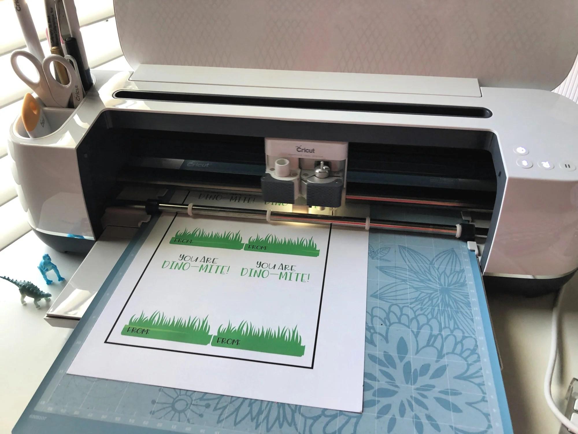 Dino-Mite Print Then Cut with Cricut Maker