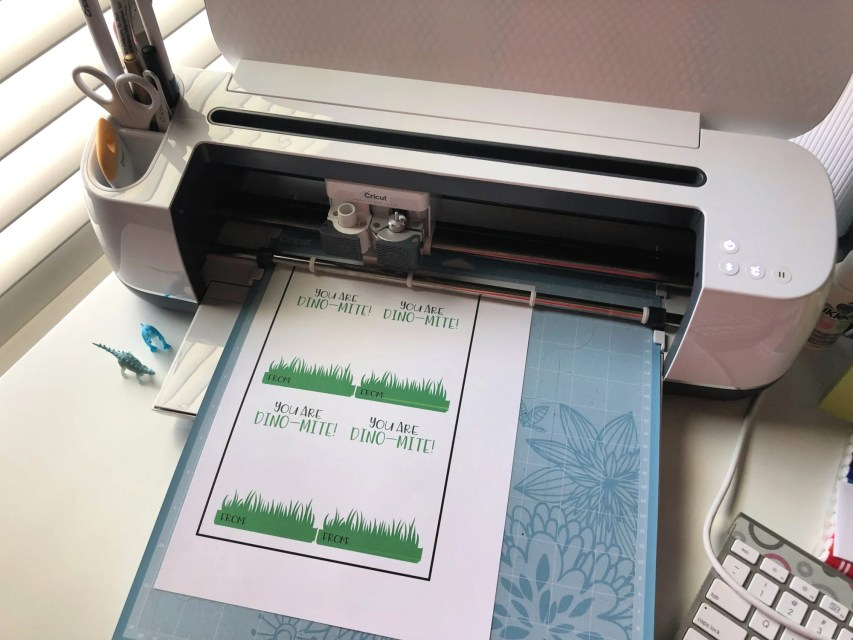 Dino-Mite Print then Cut Valentine