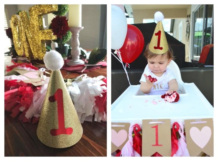 DIY First Birthday Party Hat