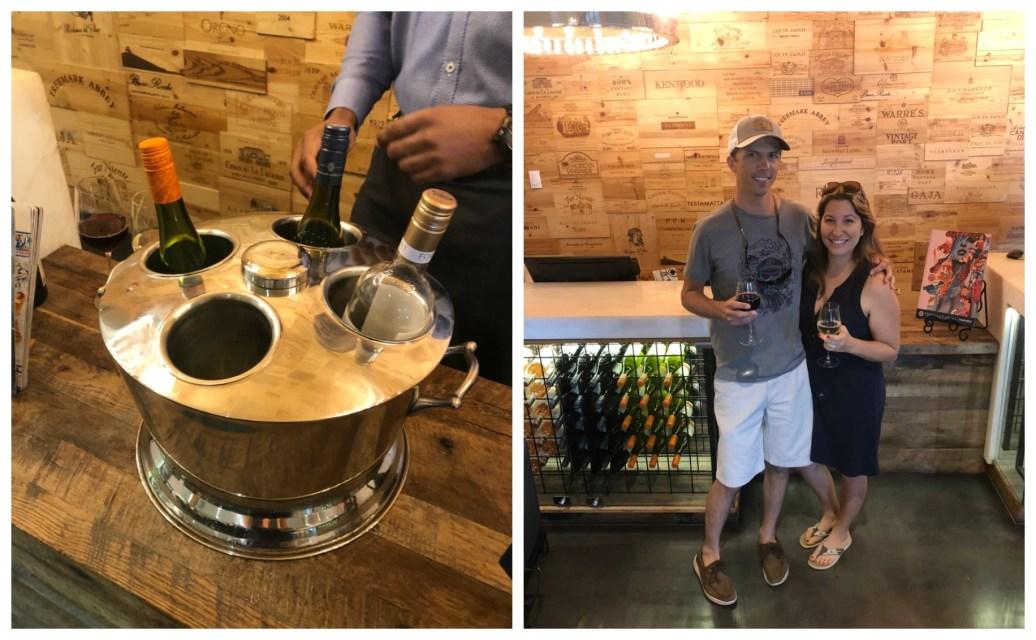 The Epicureran Hotel Wine Welcome